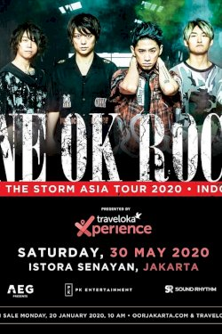 One OK Rock - Eye of the Storm Tour 2020