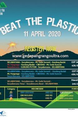 Gede Pangrango Ultra Marathon 2020